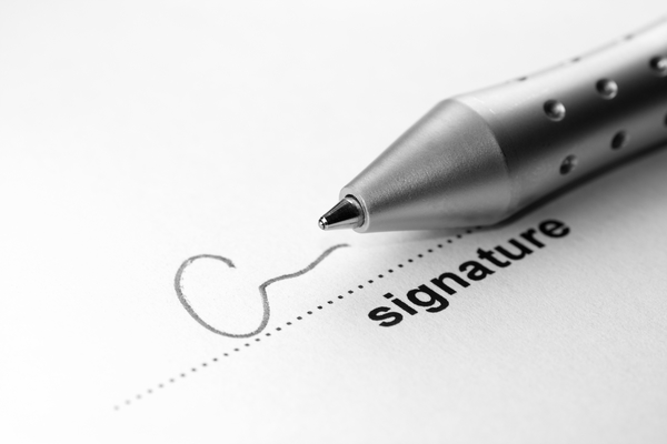 Using Digital Signatures as a Real Estate Agent