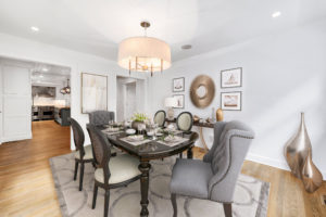 image of virtual staged dining room