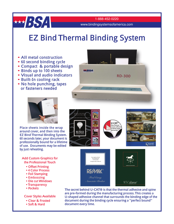 Thermal Binding System information
