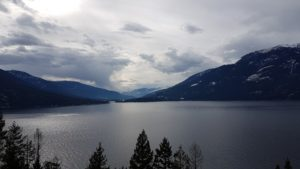 image of lake in nelson BC