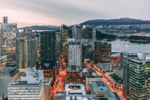 image of downtown vancouver city skyline