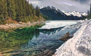 Garibaldi Lake near Whistler BC